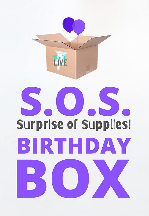 S.O.S. Birthday Art Box