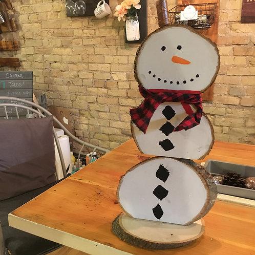 Snowman/ Pumpkin Stack