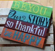 Small Pallet Sign