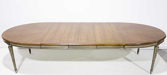 Widdicomb Louis XVI Oval Dining Table in Walnut