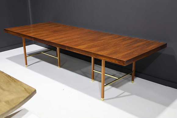 Harvey Probber Brazilian Rosewood Dining Table
