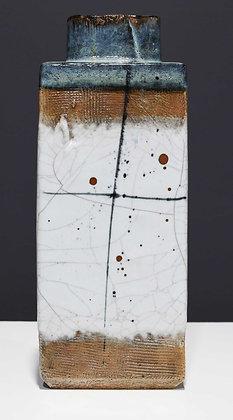 Large Rectangular Ceramic Vase by Albert Green (1914 - 1994)