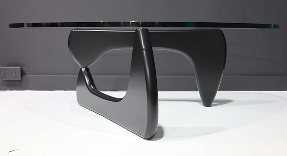 Noguchi for Herman Miller signed Coffee Table with Black Base