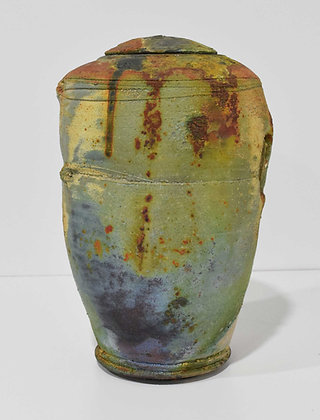 Kris Cox Ceramic Vessel Signed and Dated 1981