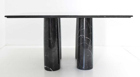 Mario Bellini Il Colonnato Black Marble Table