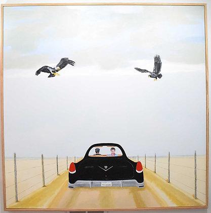 Larry Locke Original Acrylic on Canvas