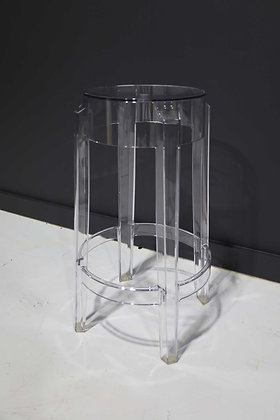 Kartell's Charles Ghost Stool by Philippe Starck- up to 45 Available