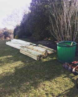 Split Rail Fence Material