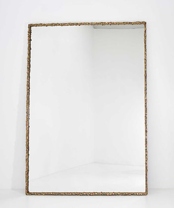 Jeffrey Sass Custom Bronze Framed Mirror