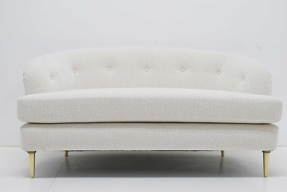 Edward Wormley for Dunbar Short Sofa Model 5406