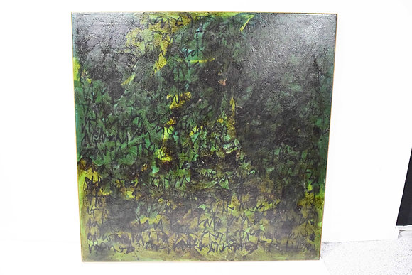 "Large Harry Bouras (1931 - 2001), ""The Season Recedes"", Oil on Canvas, dtd. 1972"