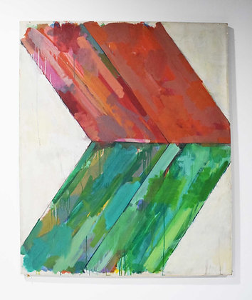 Large Abstract by John Simpson, dtd. 1964