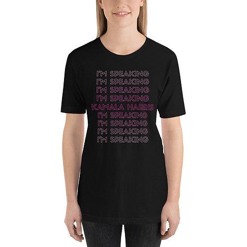 Kamala Harris I'm Speaking Short-Sleeve Unisex T-Shirt