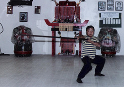 Training with Sifu Fong