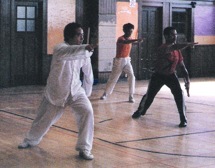 Training in California 1986