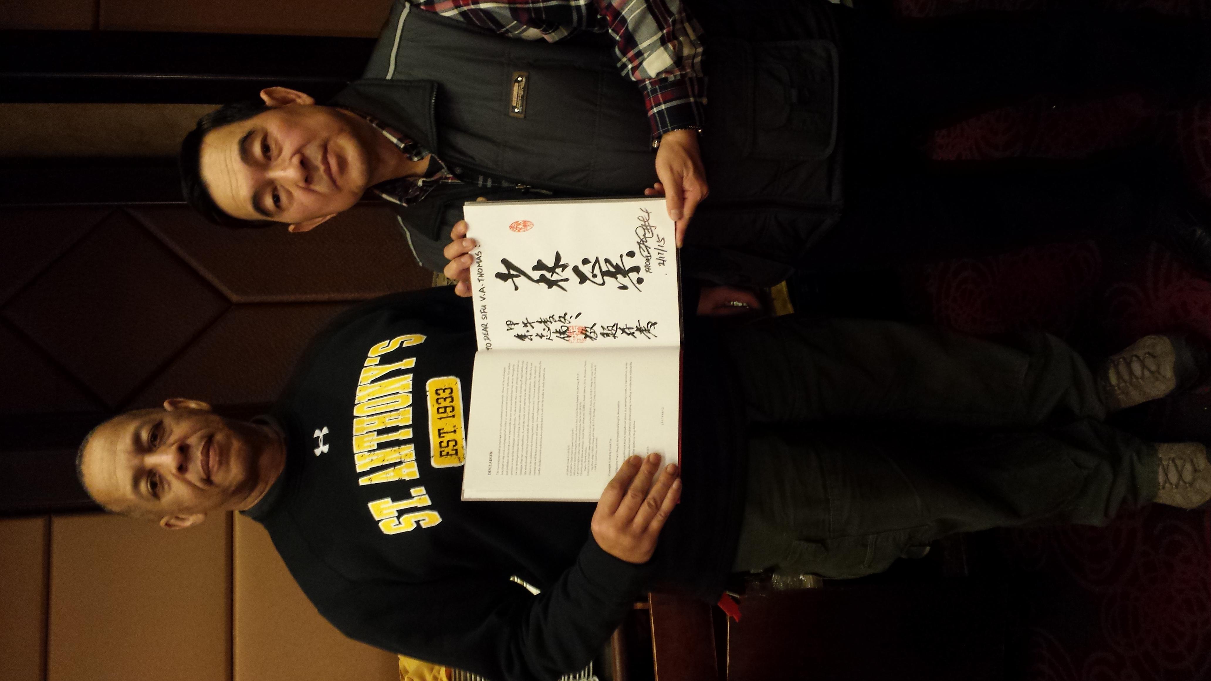Sifu Frank Yee Book Signing