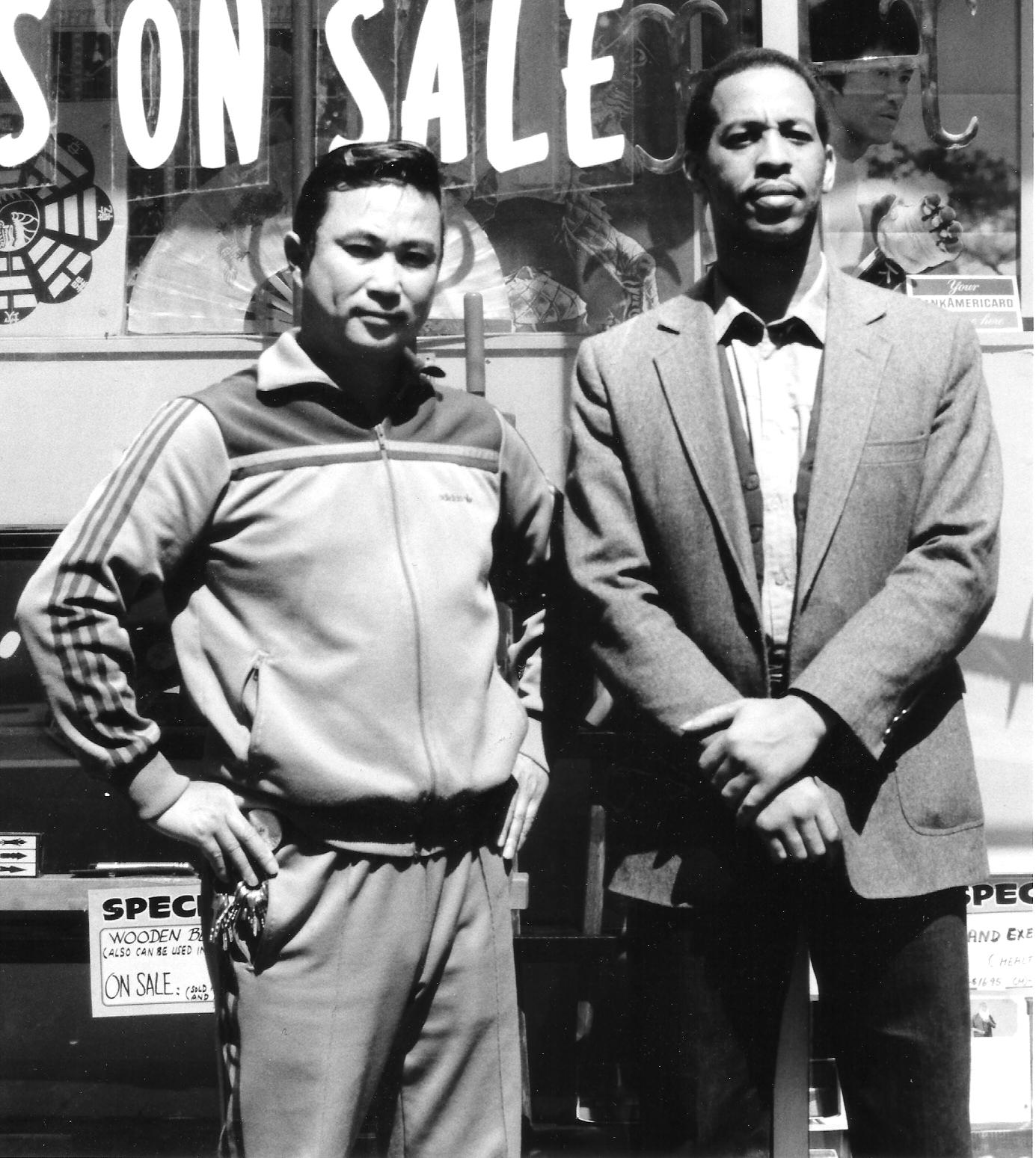 Sifu Brendan Lai in California