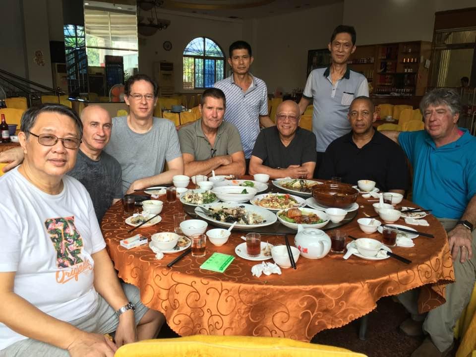 Lunch in Fatsan China