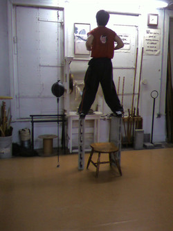 Training Stance Strength and Balance