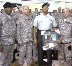 Received Award From USNG 69th REG