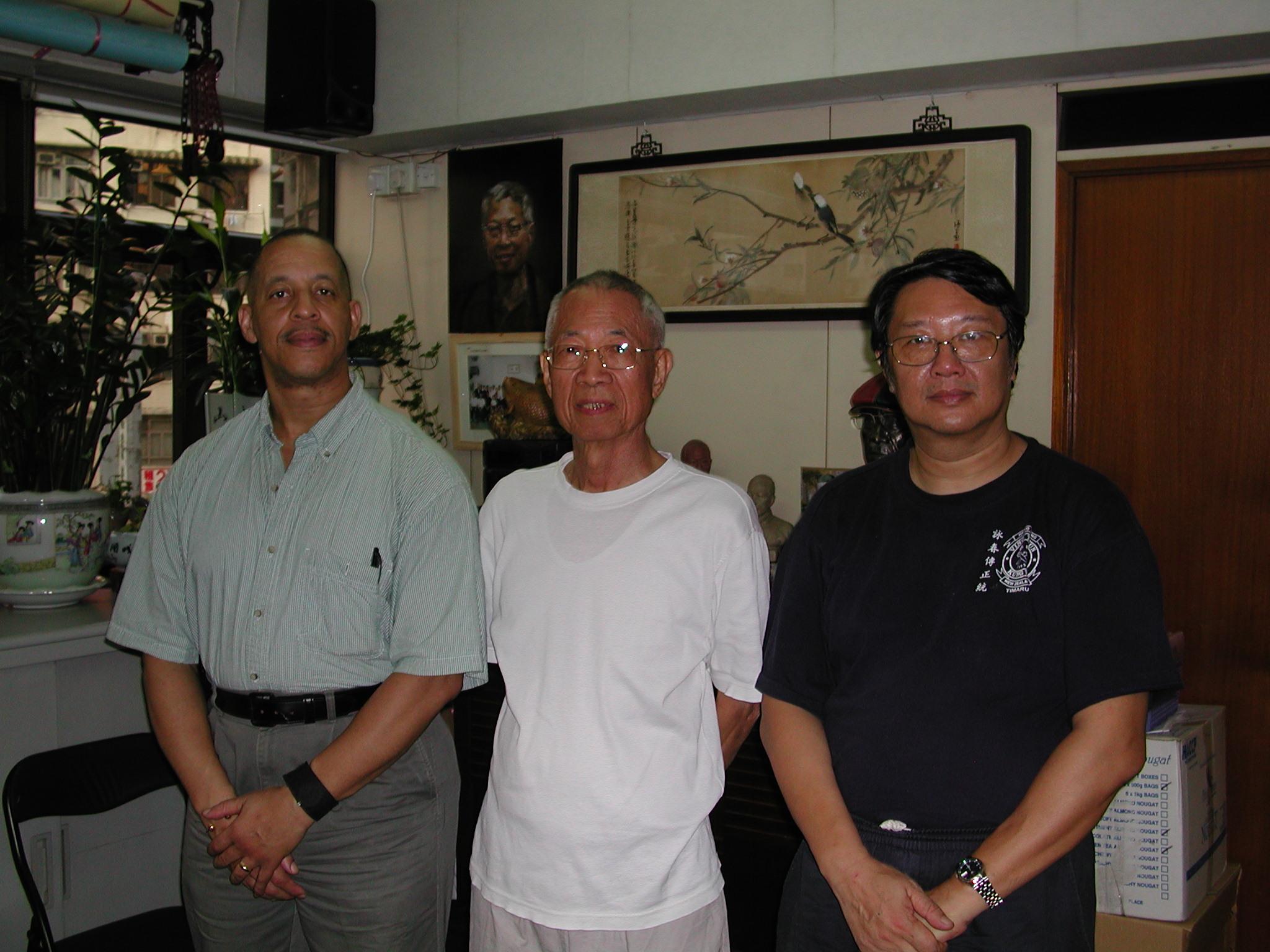 Visited Master Tu Shan Ting's School