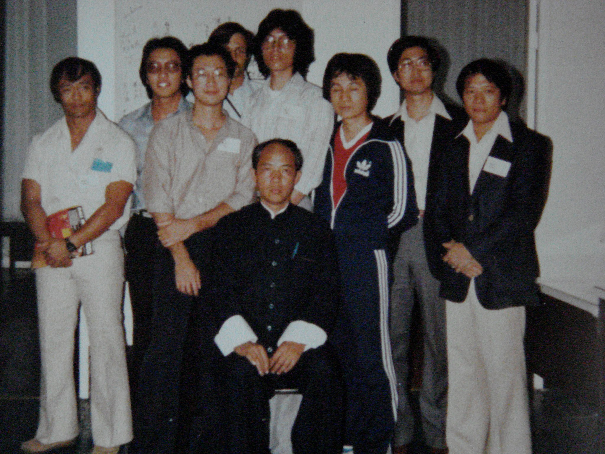 Grand Master Moy Yat and students