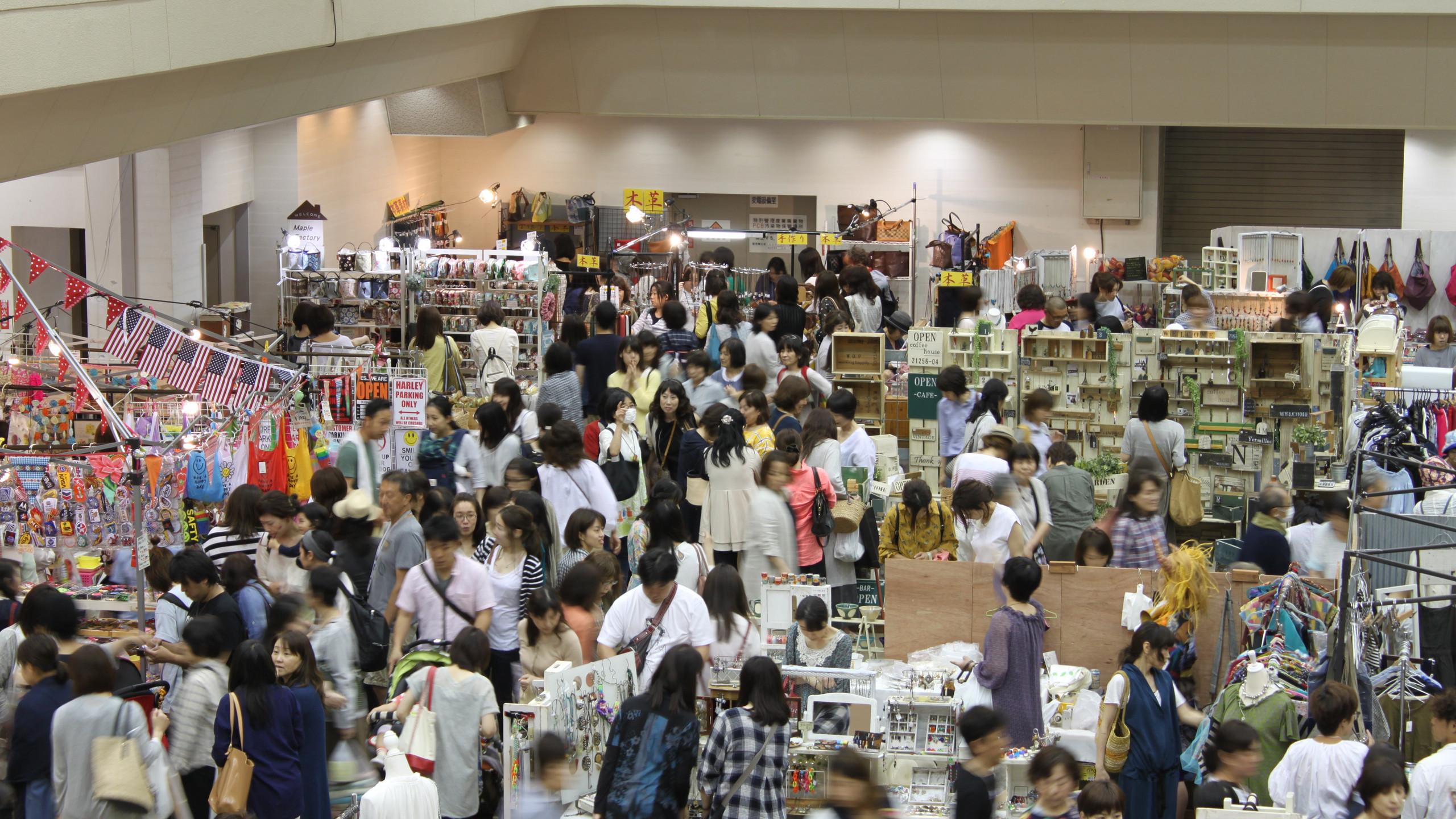 金沢産業会館イベント出店