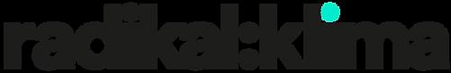 Logo_RadikalKlima_SchriftSchwarz_PunktTu
