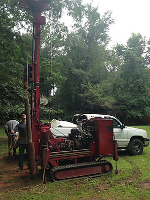 Simco Rig with Mud Auger Capability