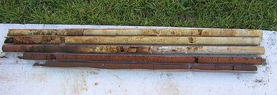 Split Spoon Soil Samples