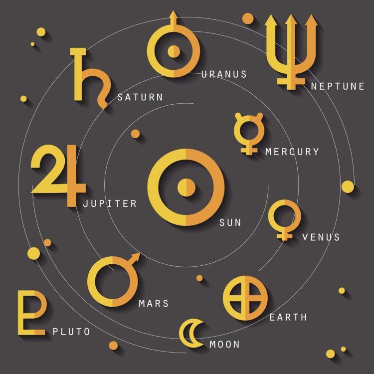 Astrology 104 – 認識行星
