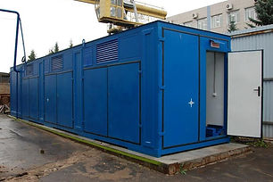 контейнер для компрессорного оборудовани