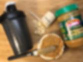 Rice cake and Pro powder.JPG