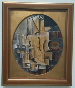 Le violon Picasso 1912