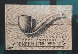 Magritte, Ceci continue...