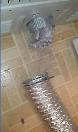 Exhaust Duct With Lint dryer vent fire hazard dryer vent cleaning experts top dryer vent cleaning