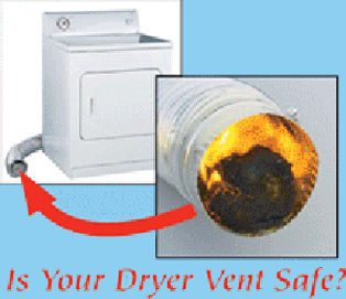 clogged dryer vents cause house fires