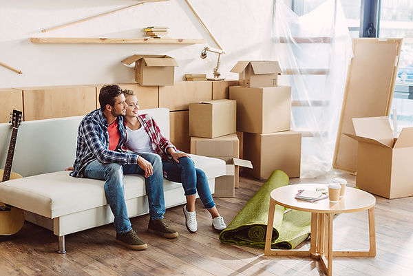 couple moving in, new home safety concerns, new house safety inspection, moving safety check, safety measures when moving in, how to make sure your new house is safe