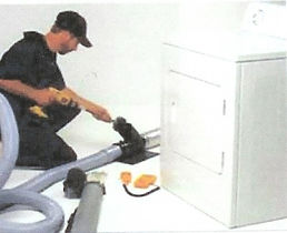clothes dryr vent cleaning service
