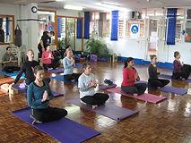 Yoga class in Bryanston