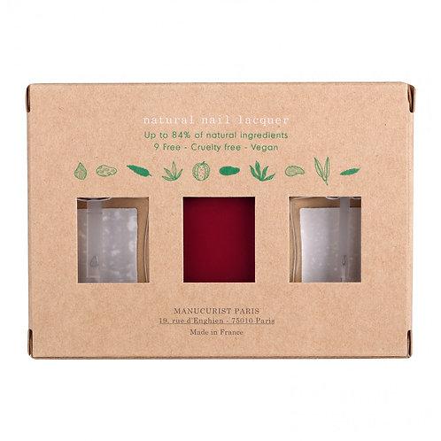 Coffret de 3 vernis Green - 3 x 15 ml