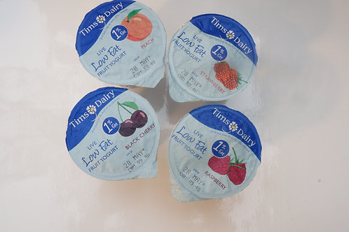 Tims Dairy Low Fat Yogurts x 6
