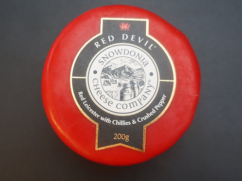 200g Red Devil - Red Leicester with Chillies & Pepper
