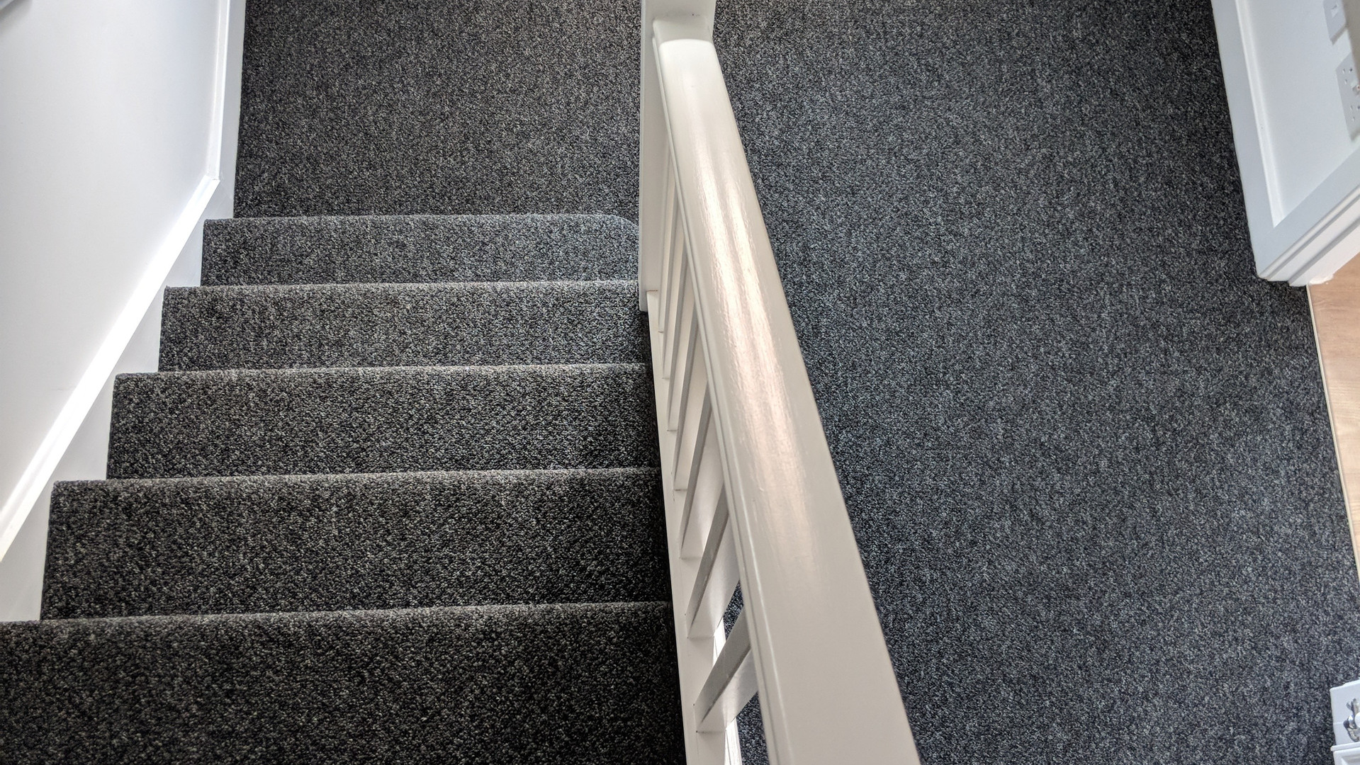 carpet in stairwell