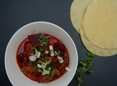 Alex's Lamb & Beetroot Curry
