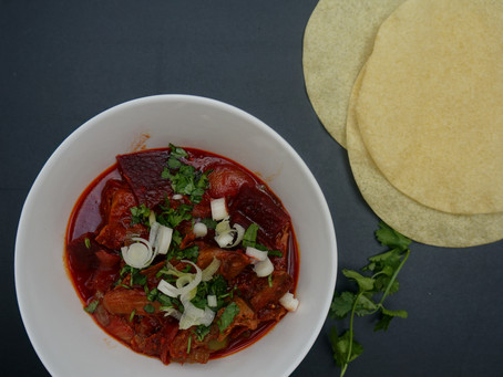 Alex's Lamb & Beetroot Curry