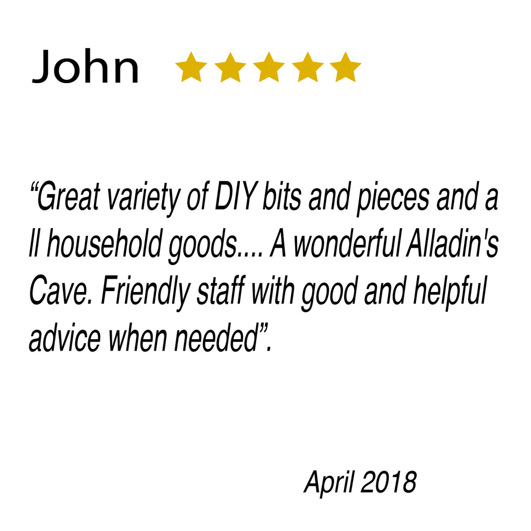 5 star review for Milford Supplies