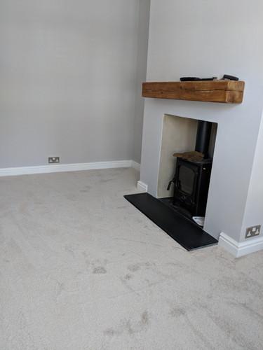 carpet in lounge silver