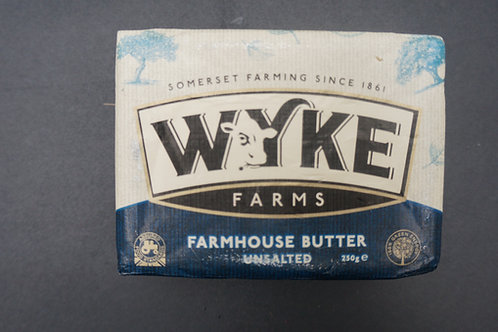 Wyke Farm House Unsalted Butter (250g)