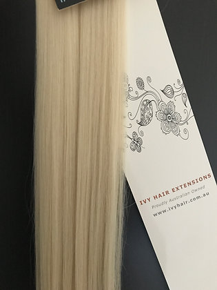 Premium Remy Tape Hair - Pure Blonde #60